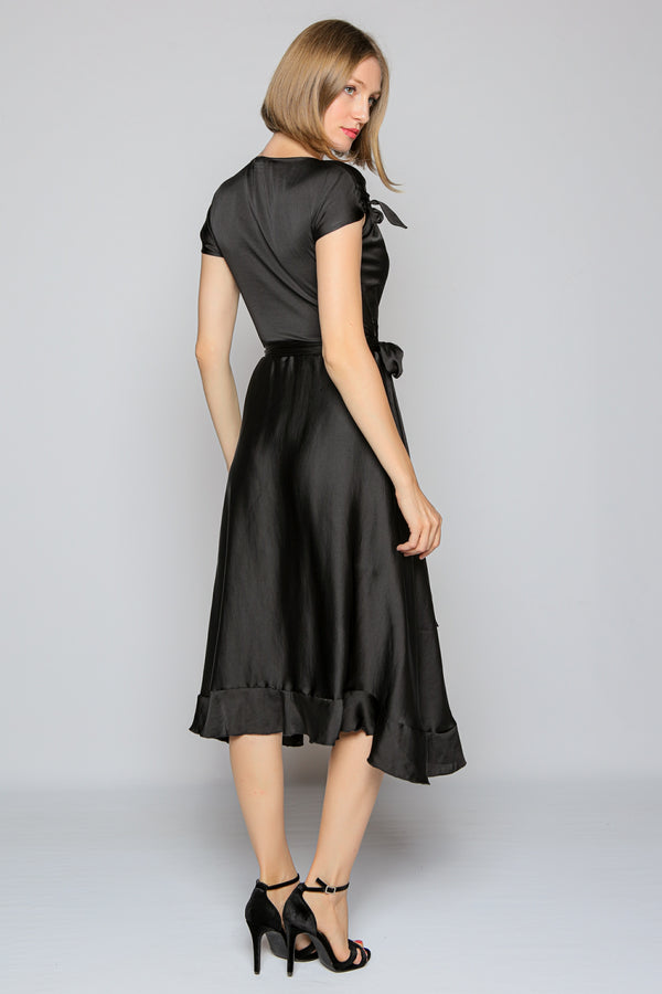 Palace Dress (black)