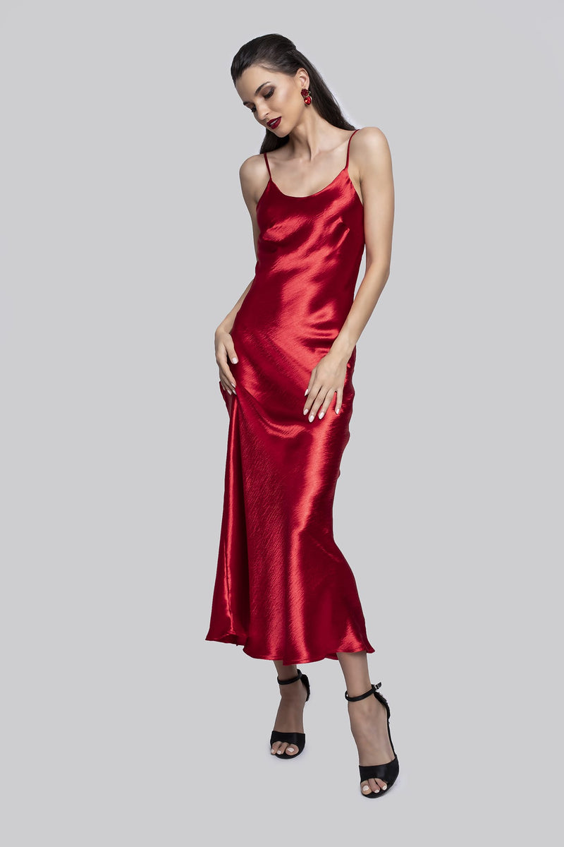 Jessica Rabbit Dress Red