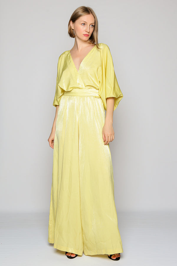 Portobello Jumpsuit (yellow)