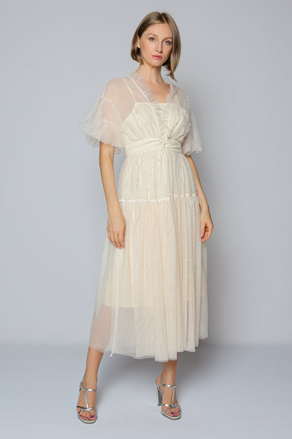 Finesse Tulle Dress