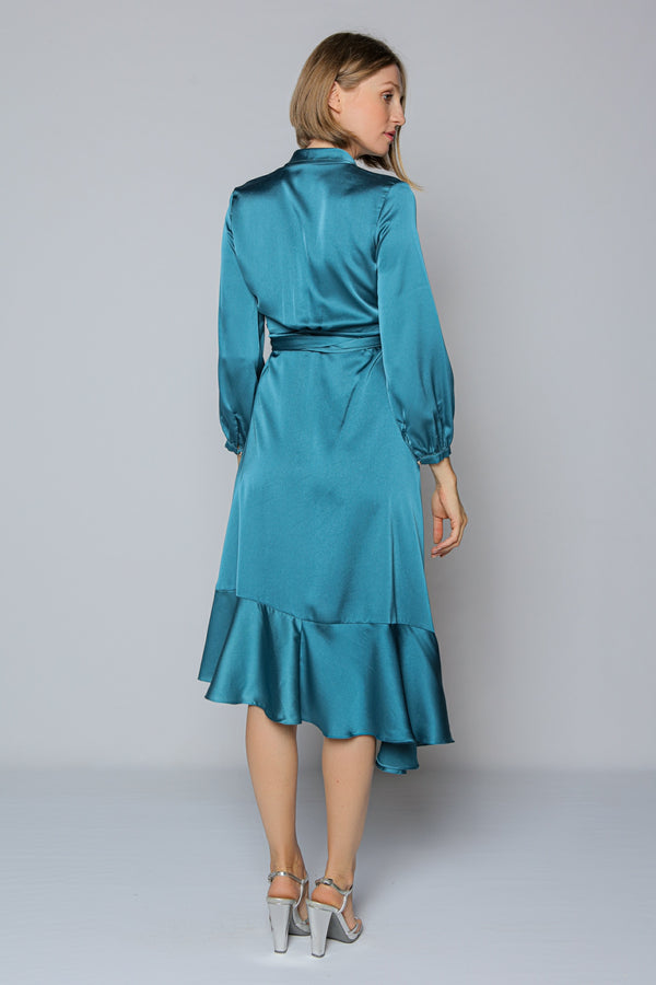 Riviera Dress (turquoise)