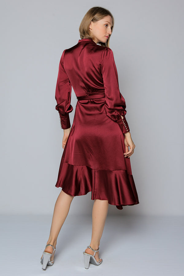 Crimson Dress (burgundy)