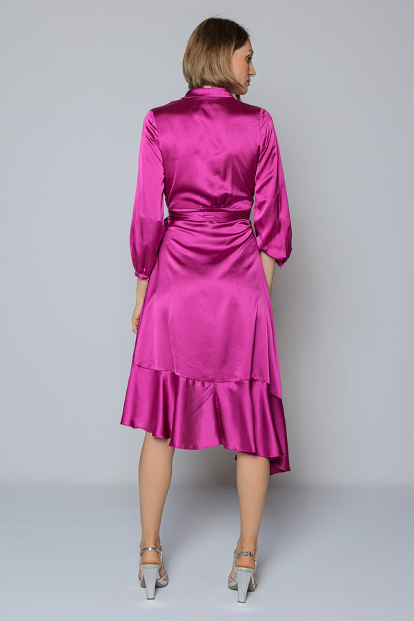 Riviera Dress (fuchsia)