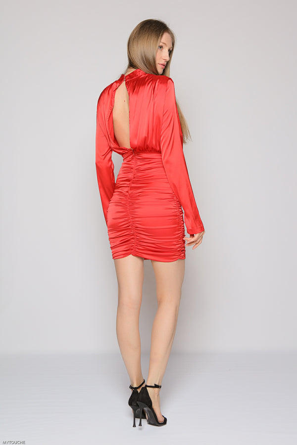 Fiesta Dress (red)