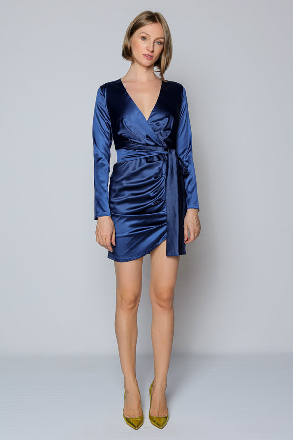 La Belle Vie Mini Dress (blue)