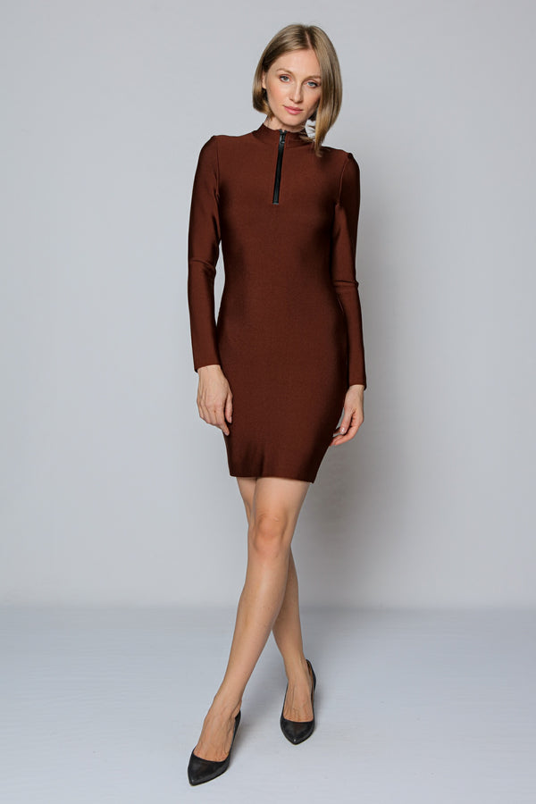 Chocolate Bodycon Dress