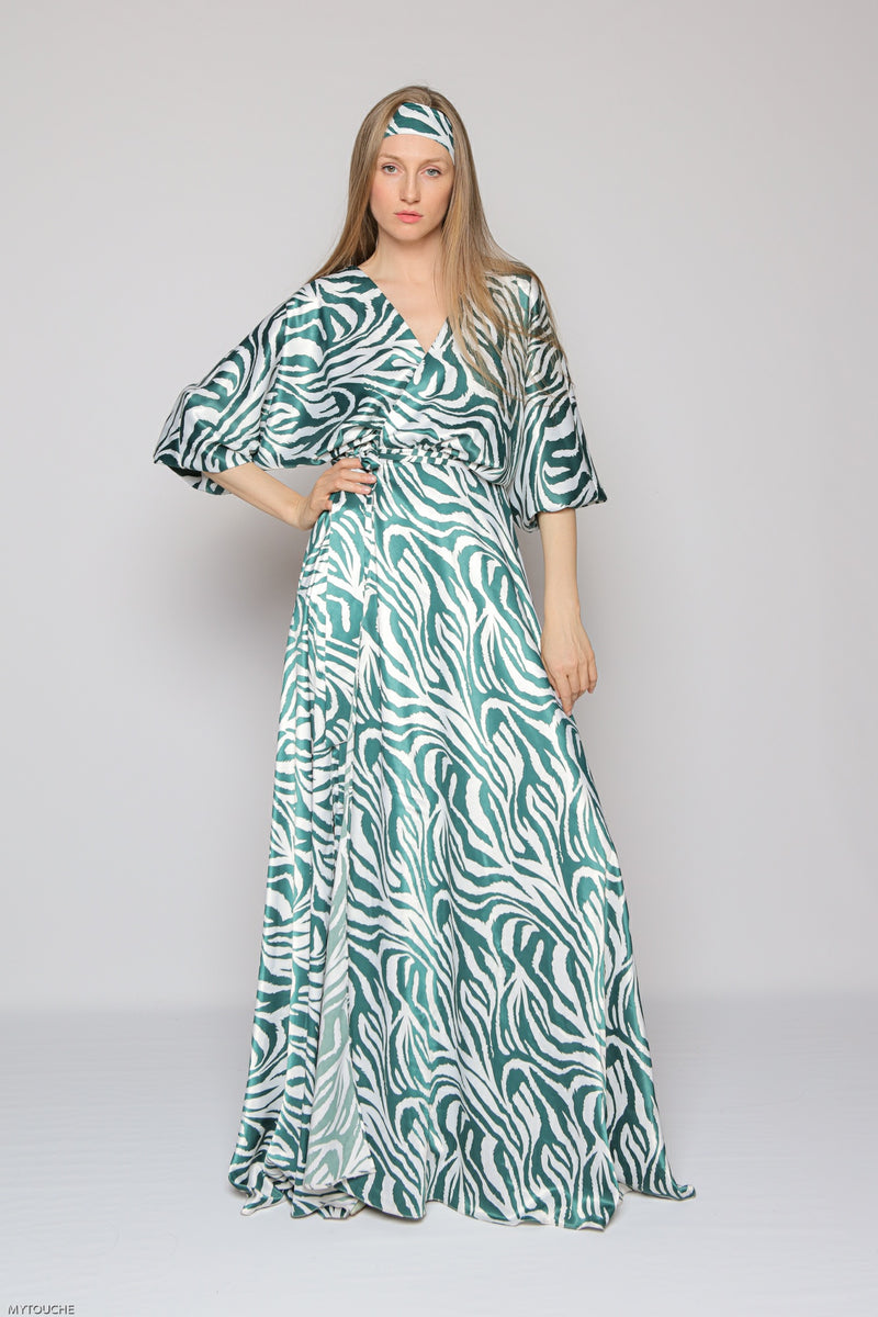 Portobello Dress (jungle green)