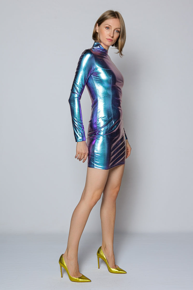 Galaxy Dress (purple)