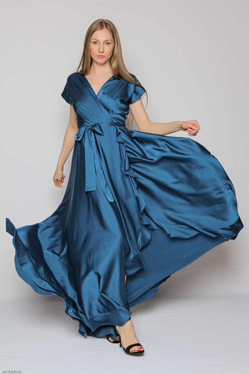 Royal Long Dress (blue)