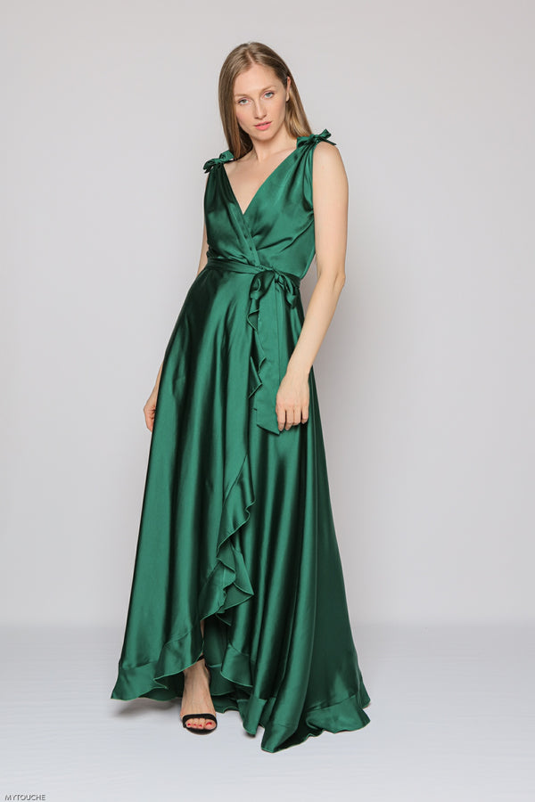Royal Long Dress (green)