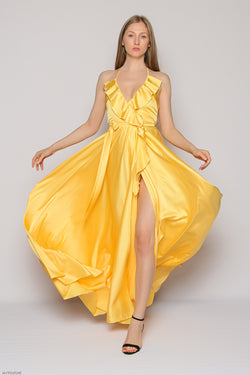 J'adore Long Dress (yellow)