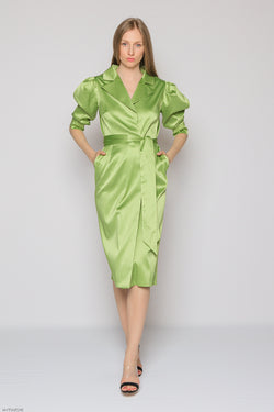 Bliss Dress (green)