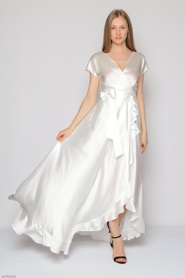 Royal Long Dress (white)