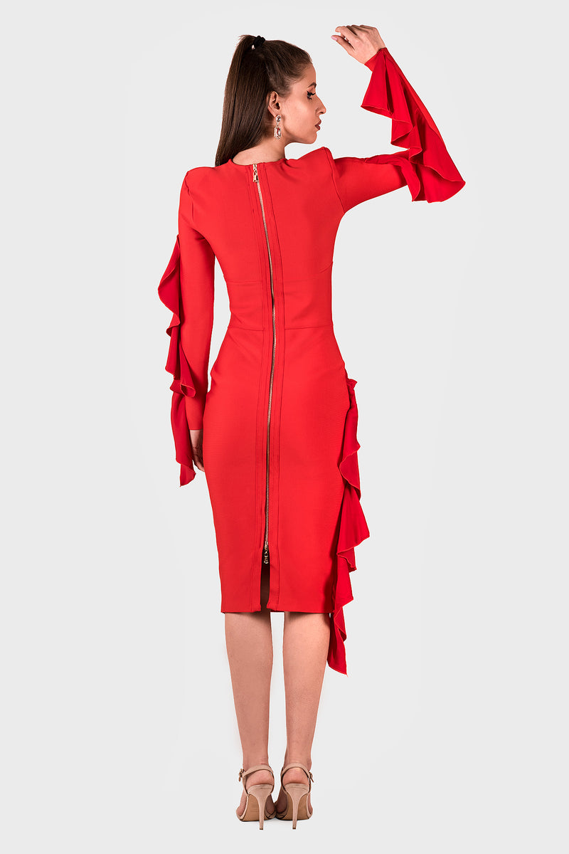 Dark Romance Dress (red)