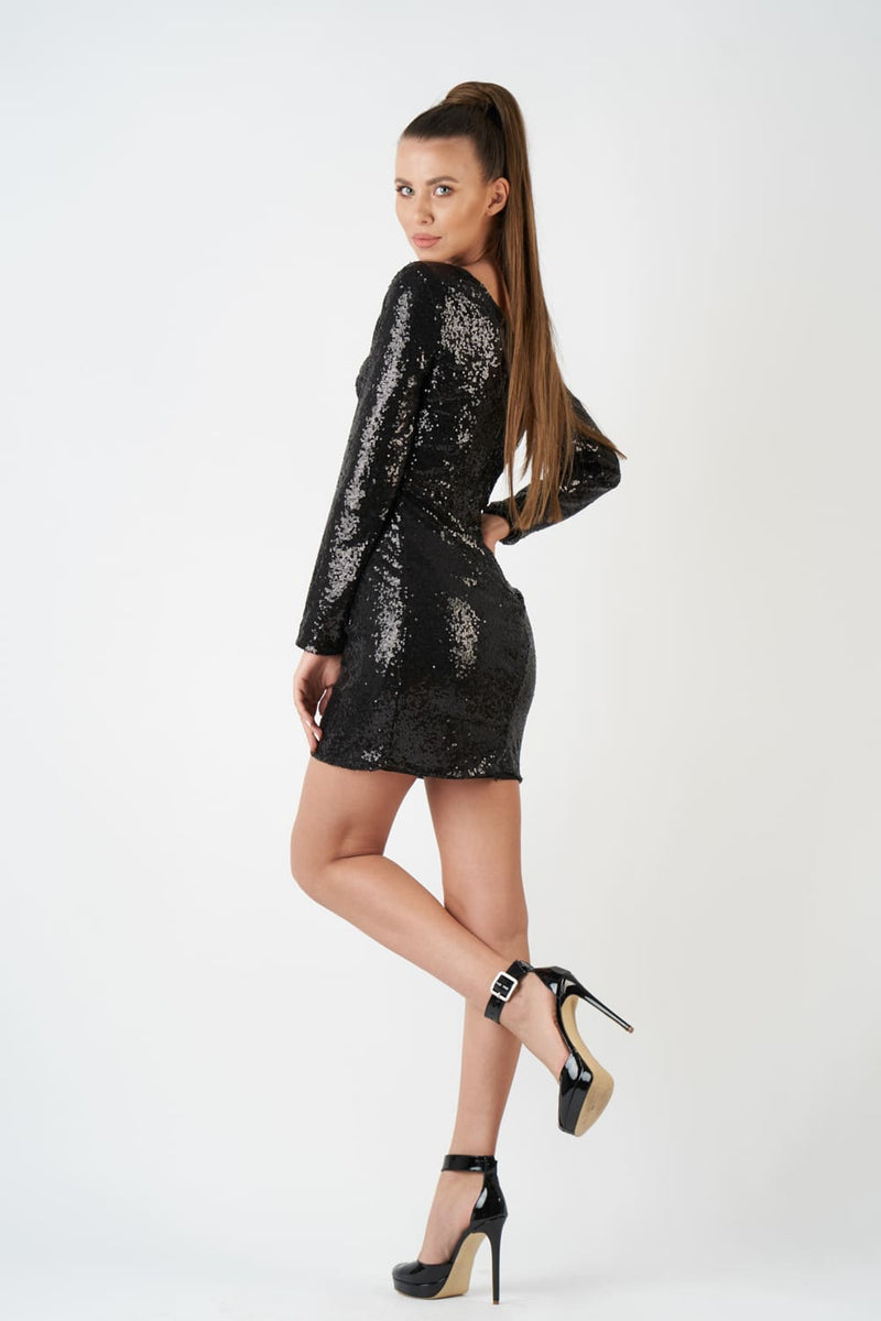 Sweet Twenty Black Dress