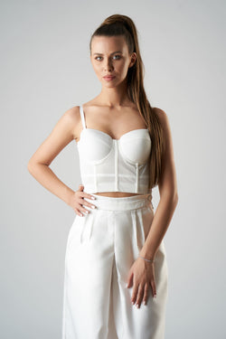 Cinderella Top (white)