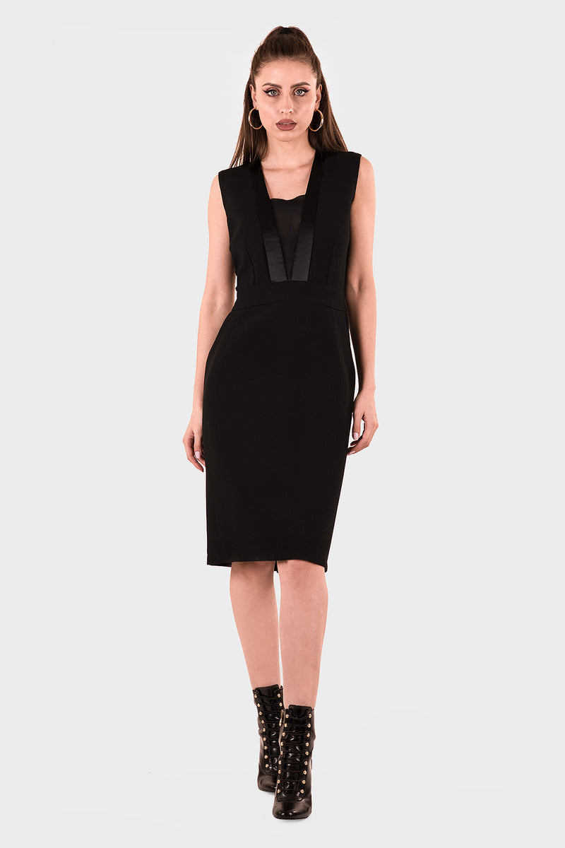Celosia Black Dress