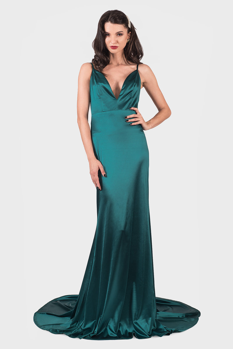 Valencia Dress (green)