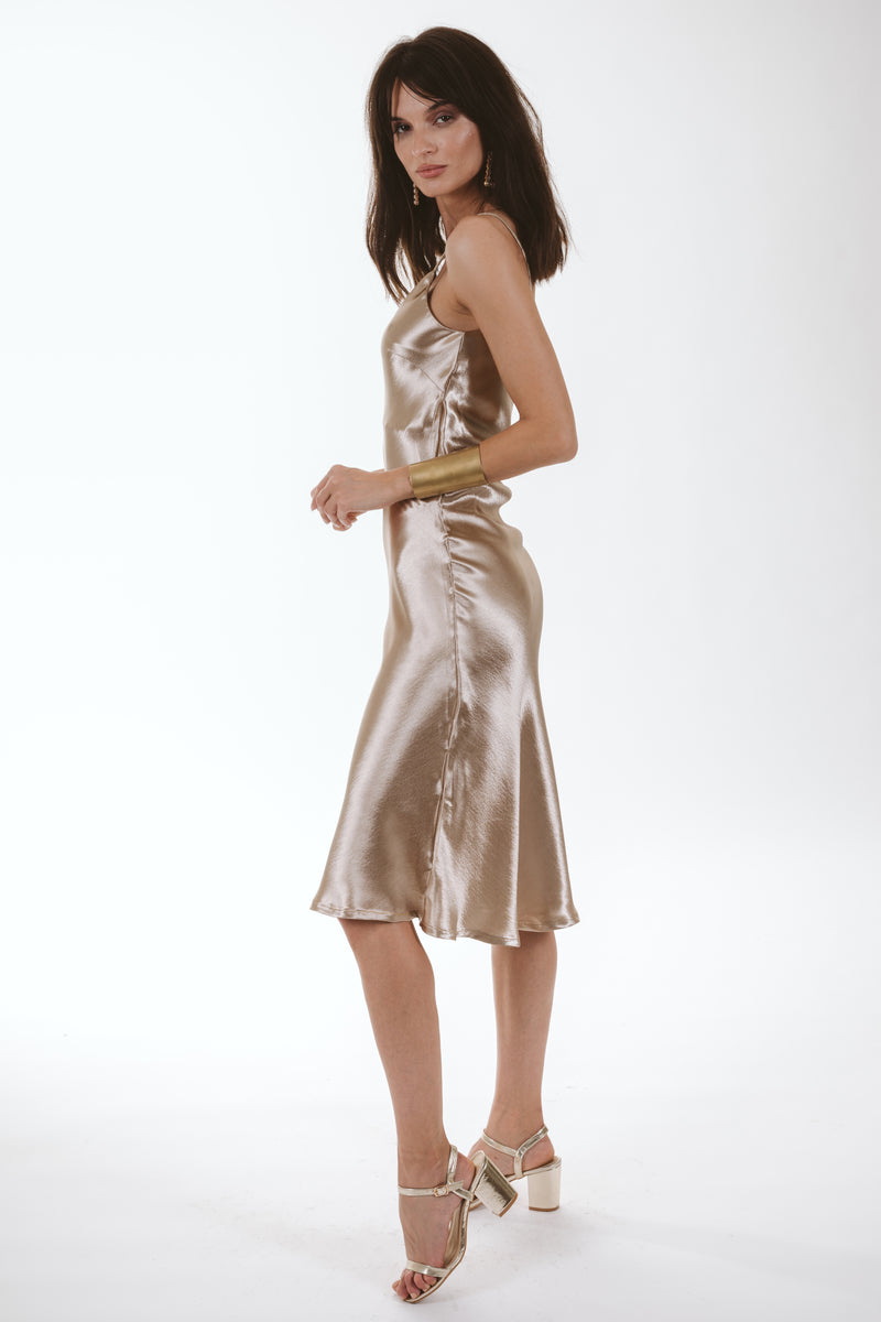 Jessica Rabbit Dress (gold)