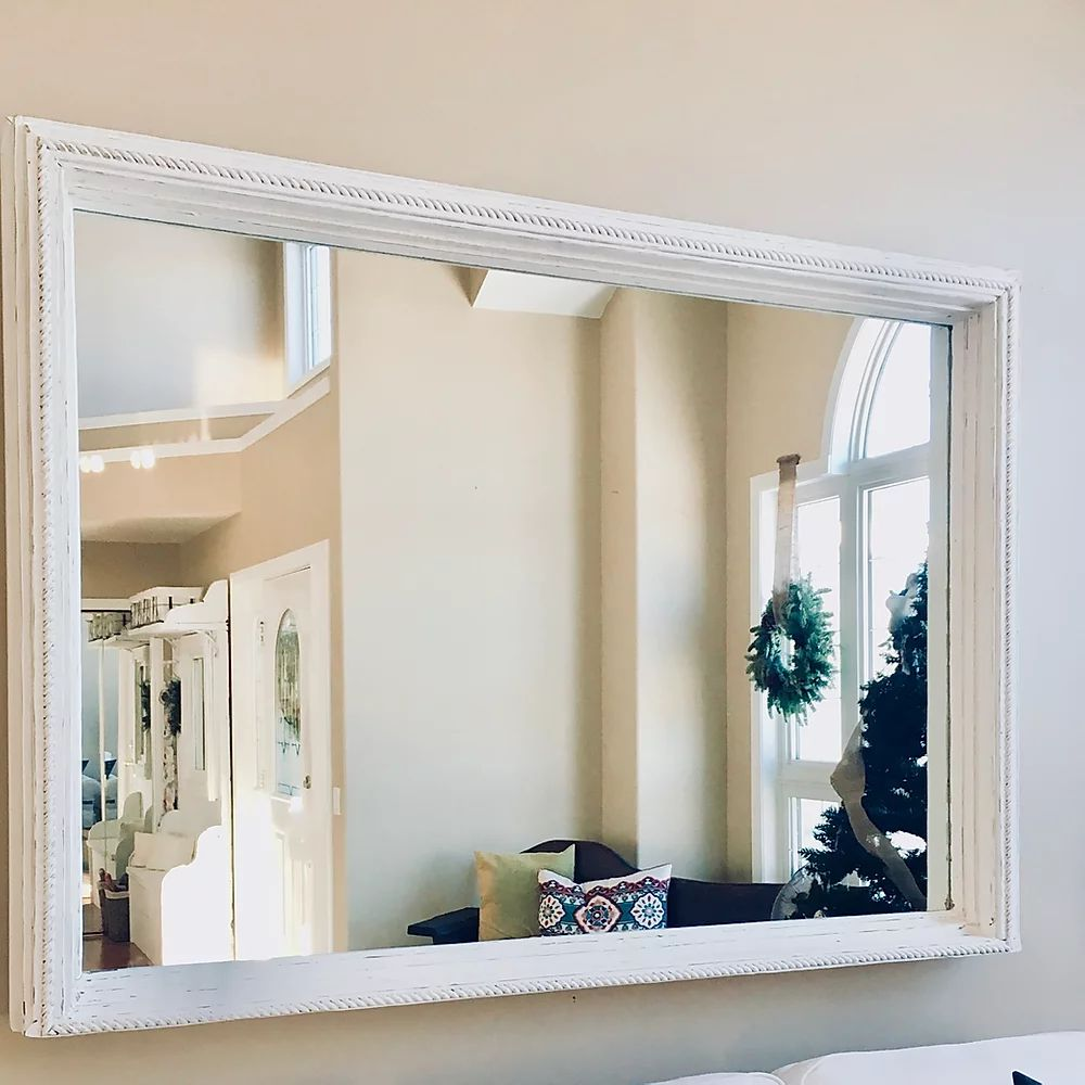 Antique Style Mirror | CUNA Furniture | Custom Furniture Alberta