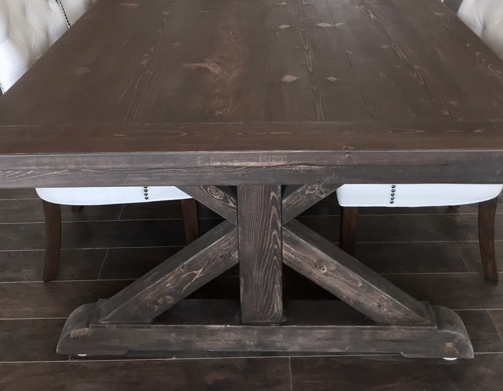 Farmhouse Dining Table  | Cuna Furniture Makers | Custom Furniture