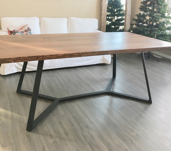 Frida Modern Wood Dining Table | CUNA Mediterranean Concept