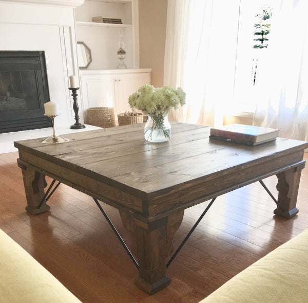 Gaudi Rustic Modern Coffee Table | CUNA Furniture Makers