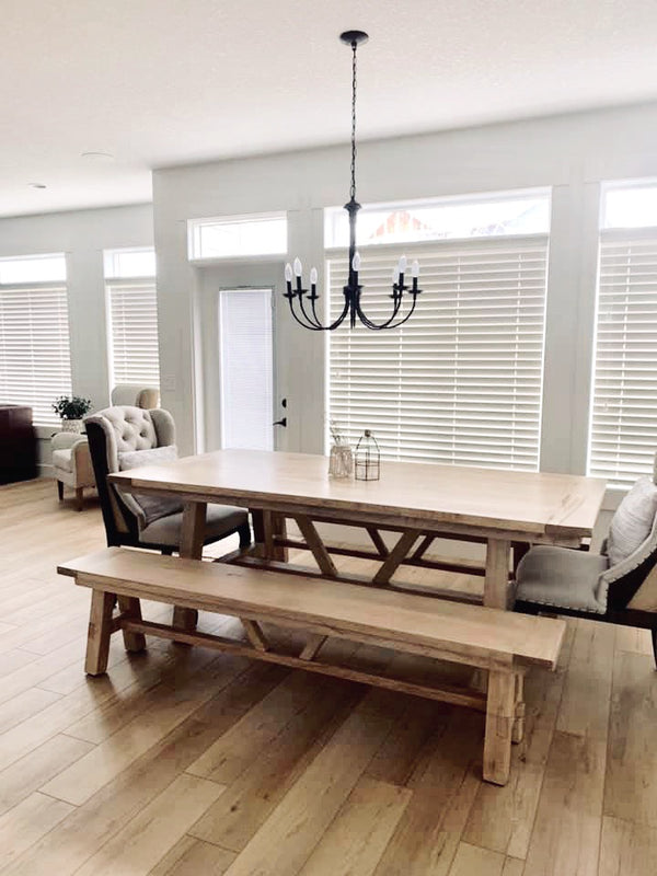 Dining Table | Cuna Furniture Makers | Custom Furniture Okotoks + Calgary