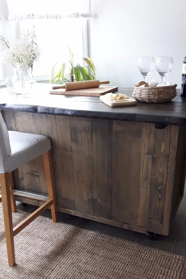 Kitchen Island Storage  | Cuna Furniture Makers | Custom Furniture
