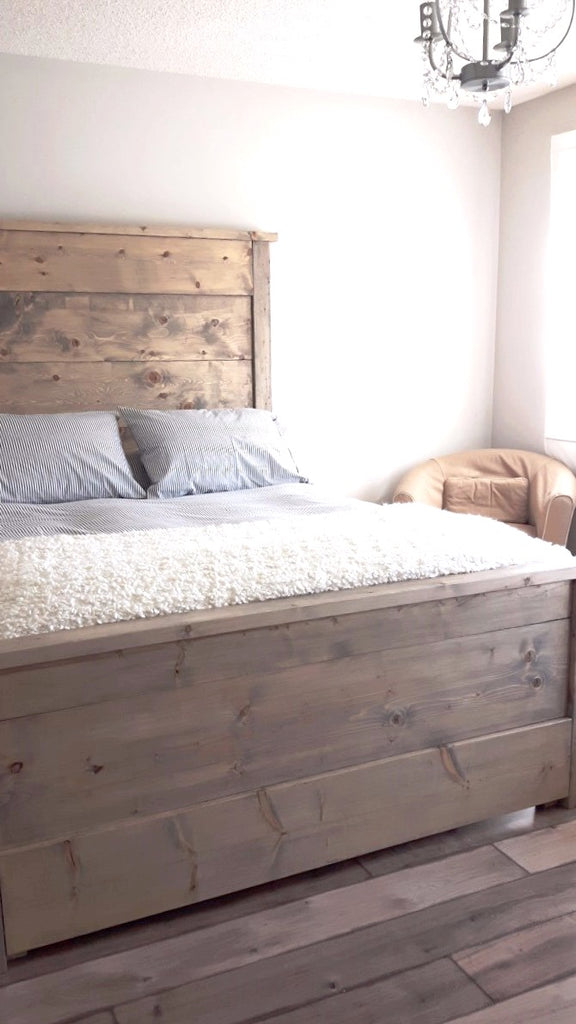 Bedframe  | Cuna Furniture Makers | Custom Furniture