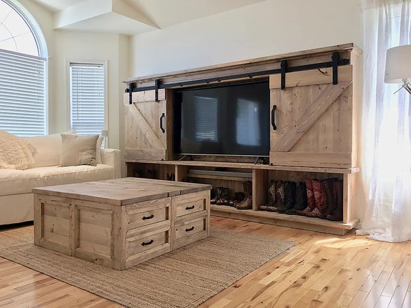 TV Entertainment Stand  | Cuna Furniture Makers | Custom Furniture