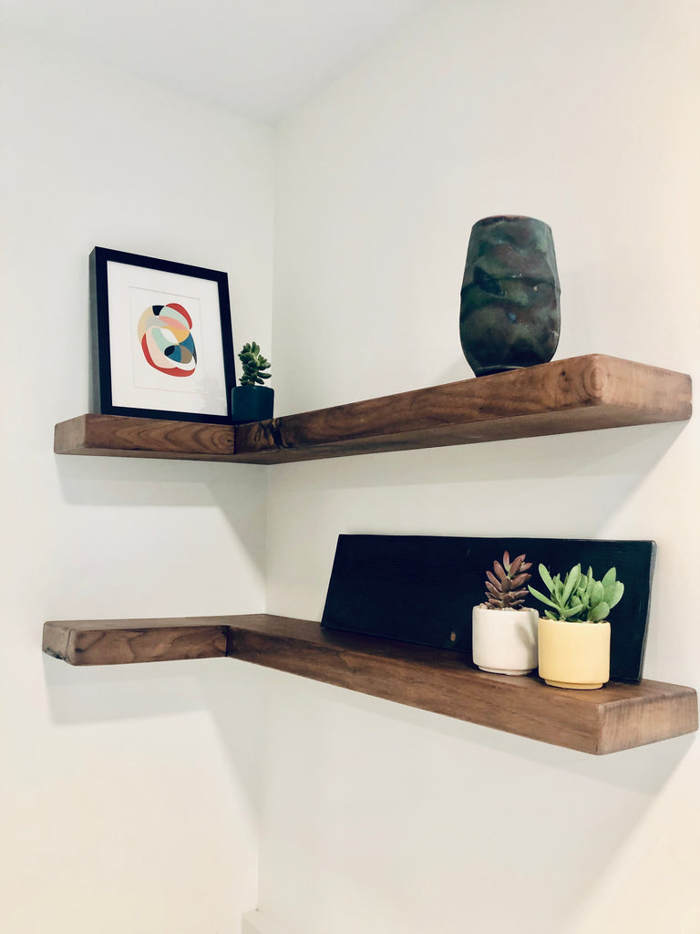 Floating Shelves  | Cuna Furniture Makers | Custom Furniture