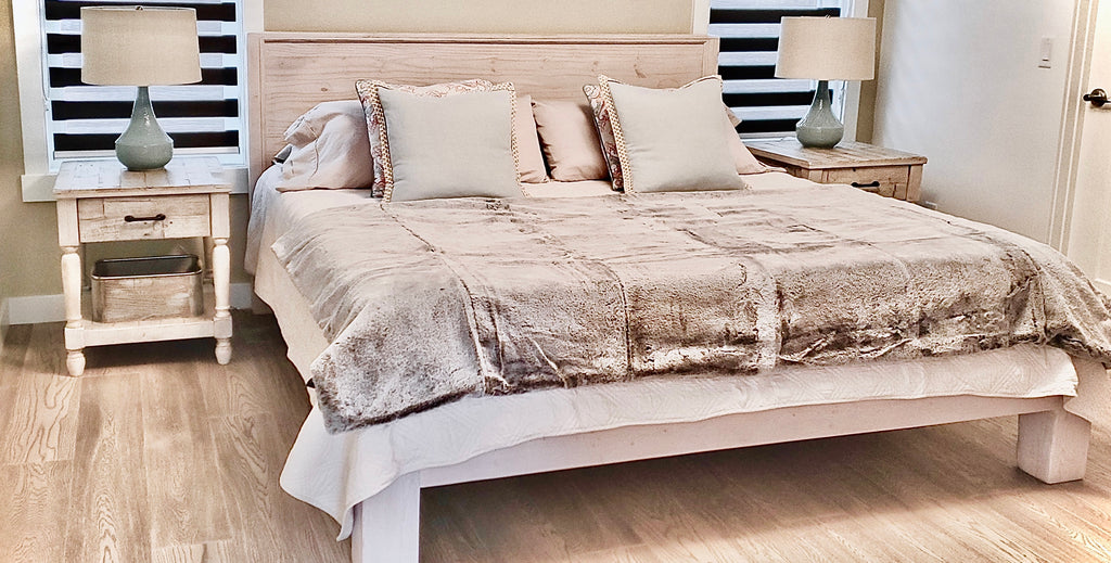King Bedframe  | Cuna Furniture Makers | Custom Furniture