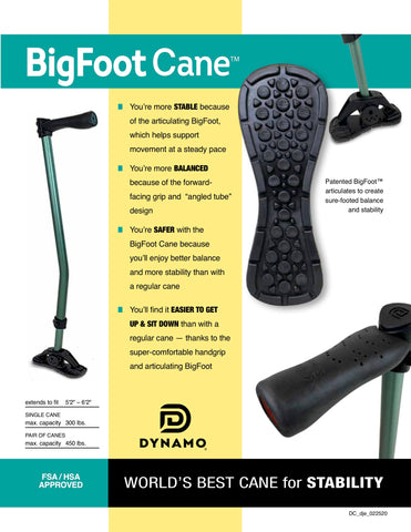 BigFoot Cane Flyer