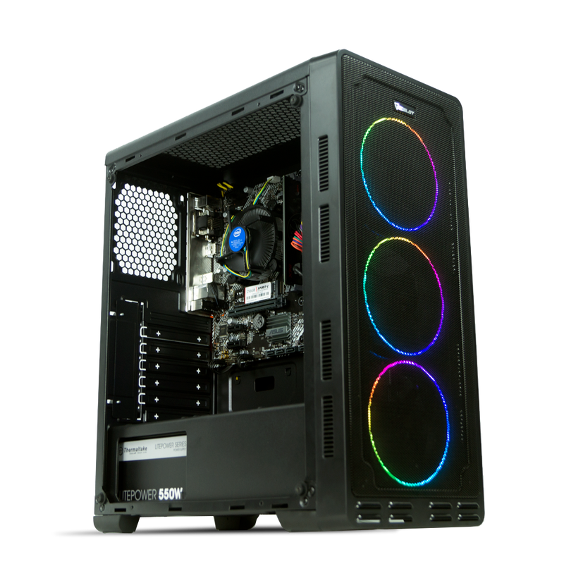 PC Gamer Master Race Low Spec Intel Core i7 10700 / UHD Intel® 630 / 8GB / 240 GB SSD