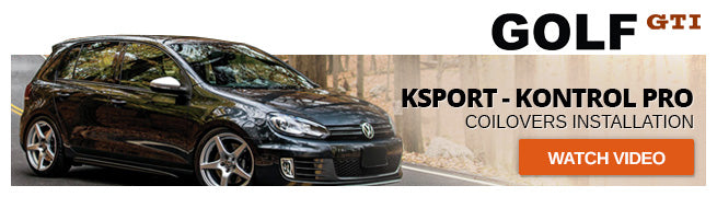 Watch Video: KSport Kontrol Pro Coilovers Installation