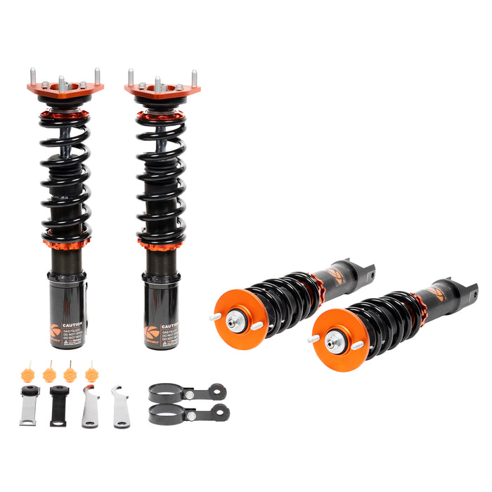 1989-1995 - BMW - 5 Series (525i, 530i, 535i, 540i w/51mm OE Front Strut) [Welding Required] - Ksport USA Coilovers