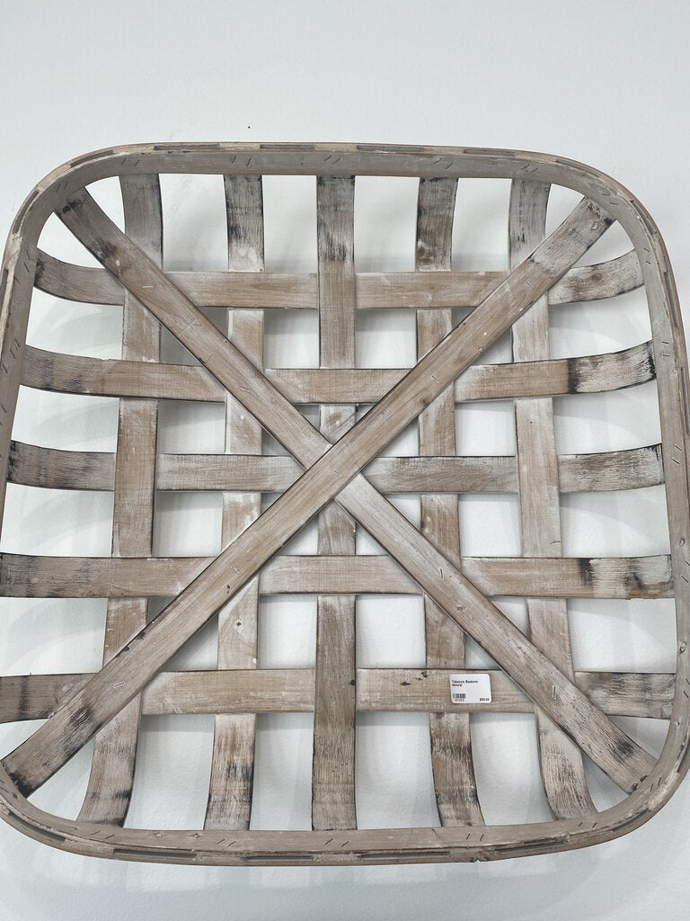 Tobacco Baskets Natural