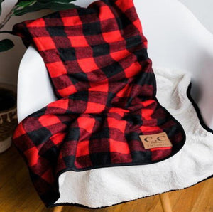 CC Buffalo Plaid Blanket
