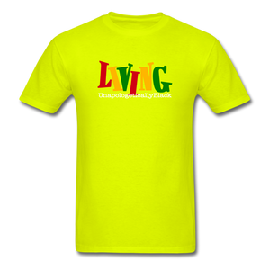 Living Unapologetically Black Shirt - FashionablyRoyale [ Customized, T-Shirts, Apparel]