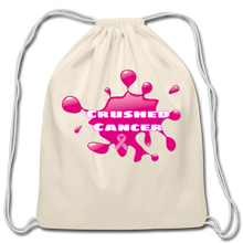 Load image into Gallery viewer, Cotton Drawstring Crushed Cancer Bag - FashionablyRoyale [ Customized, T-Shirts, Apparel]