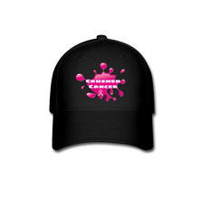 Load image into Gallery viewer, Crushed Cancer Baseball Cap - FashionablyRoyale [ Customized, T-Shirts, Apparel]