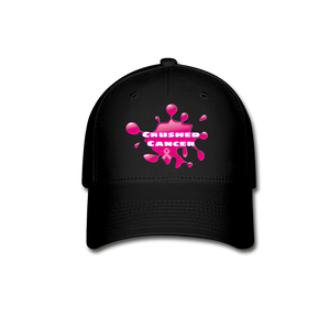 Crushed Cancer Baseball Cap - FashionablyRoyale [ Customized, T-Shirts, Apparel]