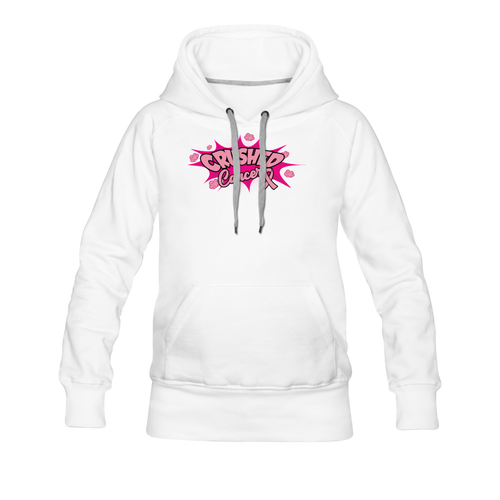 Women's Premium Crushed Cancer Hoodies - FashionablyRoyale [ Customized, T-Shirts, Apparel]