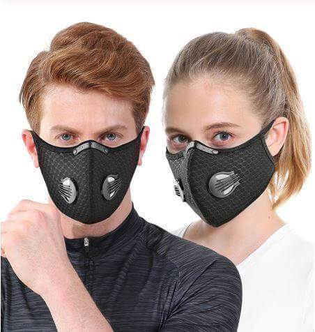 Outdoor Filter Protective Mask + 5 Filters - Swift Vogue
