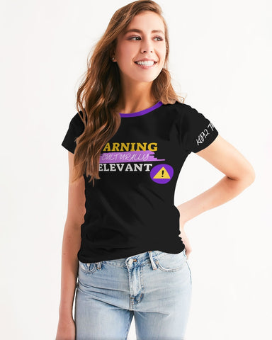 Warning: Culturally Relevant Women's Tee