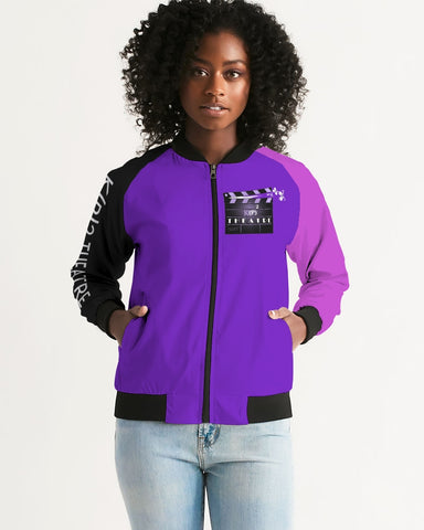 KP2  Culturally Relevant Bomber Jacket Women's Bomber Jacket
