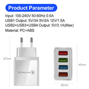 Portable Wall Mobile Charger Adapter