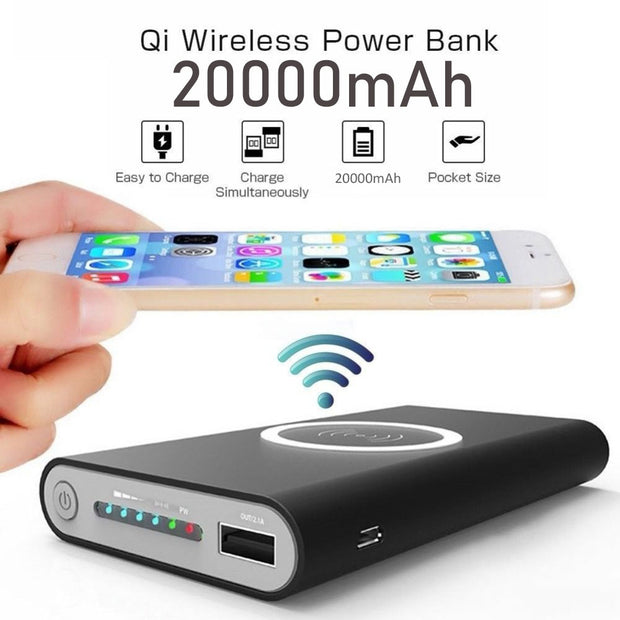 Portable Wireless Power Bank