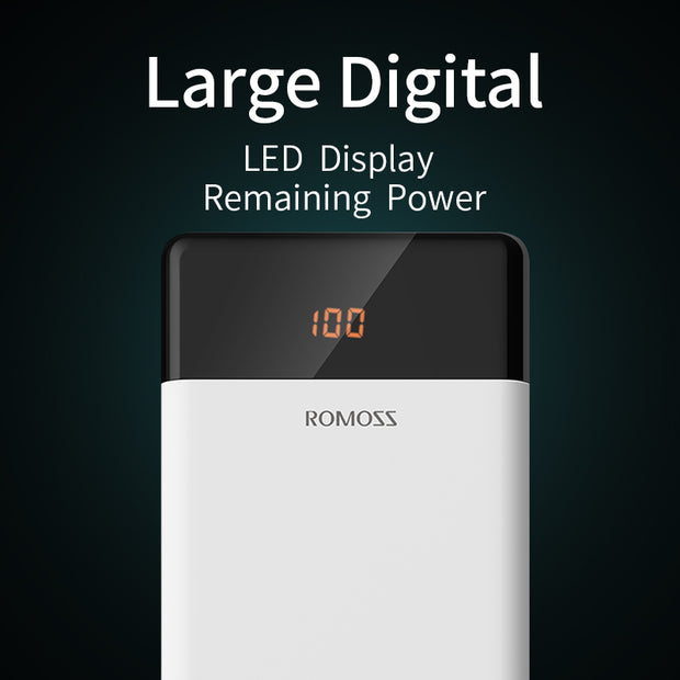 LED Dual USB Powerbank